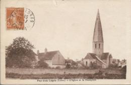 D45 - FAY AUX LOGES - L'EGLISE ET LE PRESBYTERE - Francia