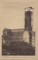 3 CP Nancy église Notre Dame De Lourdes En Construction Avec Au Dos Cachet Léon Loevenbruck Curé De La Basilique - Nancy