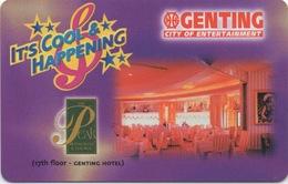 Malaisie : Genting City Of Entertainment : The Peak Restaurant & Lounge - Cartes D'hotel