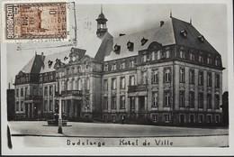Exposition Philatélique à Luxembg Héliogravure  Dudelange Hôtel De Ville ( Michel No.290 ) - Tarjetas Máxima