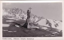 CORDILLERA, CHILE. CRISTO REDENTOR. CIRCA 1938s NON CIRCULEE - BLEUP - Chile