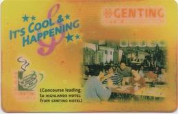 Malaisie : Genting City Of Entertainment : Mauvais État - Cartes D'hotel