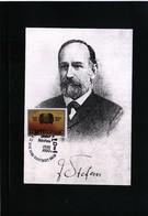 Slovenia 1993 Scientist Jozef Stefan Maximumcard - Slovenia