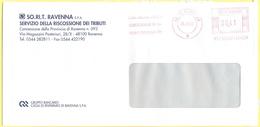 ITALIA - ITALY - ITALIE - 2002 - 00,41€ EMA, Red Cancel - SORIT Ravenna SPA - Servizio Della Riscossione Dei Tributi - V - Affrancature Meccaniche Rosse (EMA)