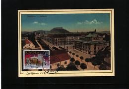 Slovenia 1992 Ljubljana Opera Maximumcard - Slowenien