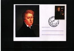 Slovenia 1992 Painter Matevz Langus Maximumcard - Slowenien