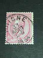 COB N ° 46 Oblitération Rhisne 1894 - 1884-1891 Léopold II