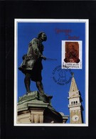 Slovenia 1992 Composer Giuseppe Tartini Maximumcard - Slowenien