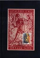 Slovenia 1993 First Slovenian Postage Stamp Verigar Maximumcard - Slovenia