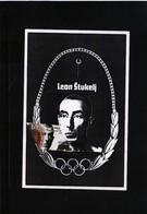 Slovenia 1992 Olympic Games Barcelona - Leon Stukelj Maximumcard - Sommer 1992: Barcelone