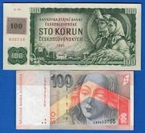 Slovaquie  2  Billets - Slovaquie