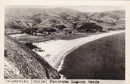 VALPARAISO, CHILE. PANORAMA LAGUNA VERDE. CIRCA 1938s NON CIRCULEE - BLEUP - Chile