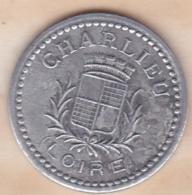 42 . Loire. Union Commerciale Et Industrielle Charlieu 10 Centimes 1920 - Monétaires / De Nécessité
