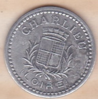 42. Loire. Charlieu. Union Commerciale Et Industrielle. 10 Centimes 1920, En Aluminium - Monétaires / De Nécessité