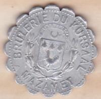 81 . Tarn. Brulerie Du Kursaal  Mazamet 25 Centimes - Monétaires / De Nécessité