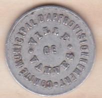 92. Haute De Seine. Comité Municipal D'Approvisionnement Ville De Vanves  10 Centimes 1918 - Monedas / De Necesidad