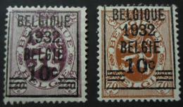 333/334 Mnh** - Bélgica