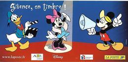 Cinéma Carton Invitation Premier Jour Fête Du Timbre 2004 Mickey Minnie Donald - Disney