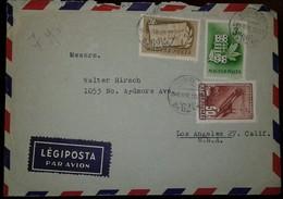 O) 1949 HUNGARY, ELIZABETH BRIDGE, ON YOUR FEEET HUNGARIAN  THE HOMELAND IS CALLING-ARMS OF HUNGARY-BEGINNING OF HUNGARY - Hungary