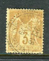 Rare N° 86 Cachet à Date Perlé ( 1879 ) - 1876-1898 Sage (Type II)