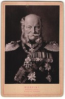 Fotografie Paul Belkner, Berlin, Portrait Wilhelm I., Deutscher Kaiser - Célébrités