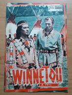"""PIERRE BRICE In """"WINNETOU (2. Teil)"""" Mit Lex Barker, Karin Dor, Klaus Kinski ... NFP-Filmprogramm Von 1964 /a175 - Magazines"""