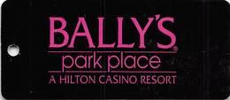 Bally's Park Place Casino  Atlantic City, NJ Key Ring Dangle - Casino Cards