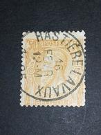 COB N ° 50 Oblitération Hastière-Lavaux 1895 - 1884-1891 Léopold II