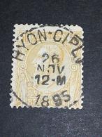 COB N ° 50 Oblitération Hyon-Ciply 1895 - 1884-1891 Léopold II