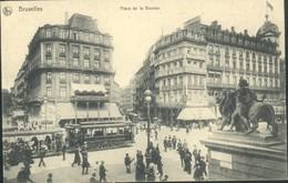 Bruxelles : Place De La Bourse TRAM - Lanen, Boulevards