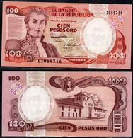 COLOMBIA - 1989 - CIEN PESOS ORO ( $ 100 ) - UNCIRCULATED. CONDITION 9/10 - Colombie
