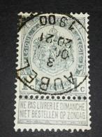 COB N ° 53 Oblitération Aubel 1900 - 1893-1900 Fine Barbe