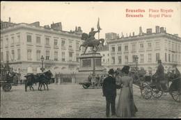Bruxelles : Place Royale /très Belle Animation - Bossen, Parken, Tuinen