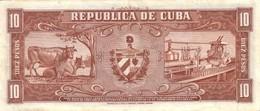 CUBA P.  88c 10 P 1960 UNC - Cuba