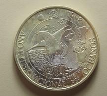Portugal 1000 Escudos Ano Internacional Dos Oceanos Silver - Portugal