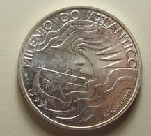Portugal 1000 Escudos Milénio Do Atlântico Silver - Portugal