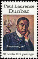 1975 USA Paul Dunbar Stamp Sc#1554 Poet Famous Oil Lamp - Costumes