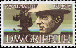 1975 USA DW Griffith Stamp Sc#1555 Famous Silver Screen Movie Cinema - Other