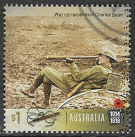 Australia 2017 World War One 1917 $1 Sheet Stamp Type 4 Good/fine Used [39/31940/ND] - 2010-... Elizabeth II