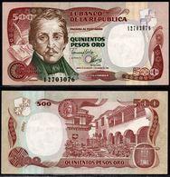 COLOMBIA - 1992- QUINIENTOS PESOS ORO ( $ 500 ) - UNCIRCULATED. CONDITION 9/10 - Colombie