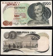 COLOMBIA - 1979- MIL PESOS ORO ( $ 1000 ) - UNCIRCULATED. CONDITION 9/10 - Colombie
