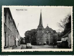 Ekeren-Donk/-vintage Pk Zicht Op De Kerk -animatie - Antwerpen