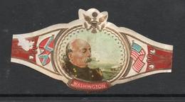 B.F. BUTLER SERIE XXII  NR 132 - American Civil War US Flag, Confederate Flag - WASHINGTON - Etiquettes