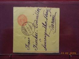 Entier Postal Bande De Journal De 1898 - Interi Postali