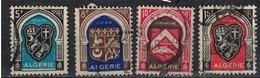 ALGERIE        N°  YVERT    268/271        OBLITERE       ( O   2/45 ) - Algérie (1924-1962)