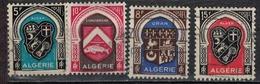 ALGERIE        N°  YVERT    268/271    ( 1 )     OBLITERE       ( O   2/45 ) - Algérie (1924-1962)