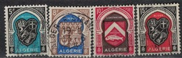 ALGERIE        N°  YVERT    268/271    ( 2 )     OBLITERE       ( O   2/45 ) - Algérie (1924-1962)