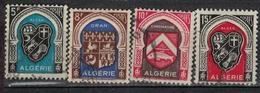 ALGERIE        N°  YVERT    268/271    ( 3 )     OBLITERE       ( O   2/46 ) - Algérie (1924-1962)