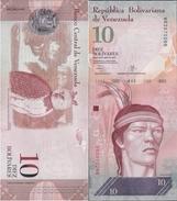Venezuela 2013 - 10 Bolivares - Pick 90 UNC - Venezuela