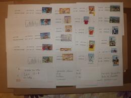 (L13-1) Timbres Sur Lettre  22  Lettres 4 Séries 22 Enveloppes Tres Bon Etat - France